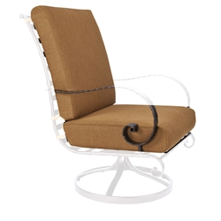 OW Lee Classico-W Hi-Back Swivel Rocker Lounge Chair Cushions - OW37-SRW