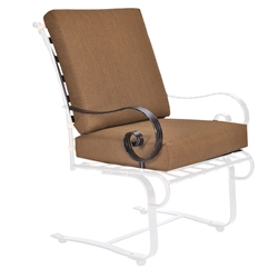 OW Lee Classico-W Club Dining Spring Base Arm Chair Cushions - OW42-SBW