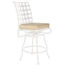 OW Lee Classico-W Armless Swivel Bar Stool Cushion - OW51-S-SBS
