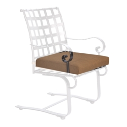 OW Lee Classico-W Spring Base Dining Arm Chair Cushion - OW53-S-SBW