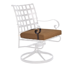 OW Lee Classico-W Swivel Rocker Dining Arm Chair Cushion - OW53-S-SRW