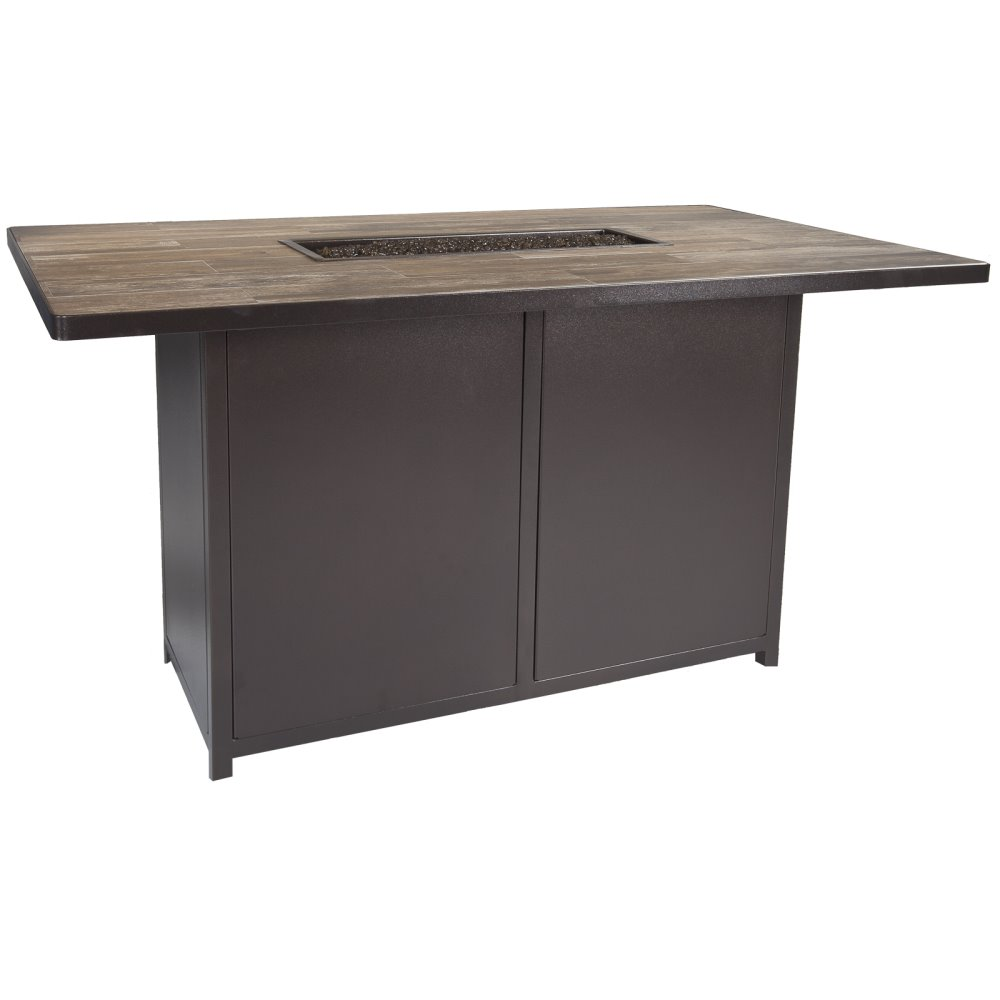 "OW Lee Elba 42"" x 72"" Counter Height Fire Table - 5122-4272K"