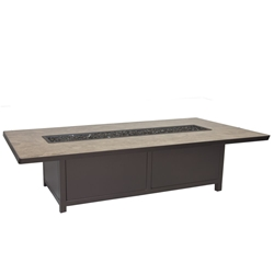 "OW Lee Elba  42"" x 72"" Occasional Height Fire Pit Table - 5122-4272O"