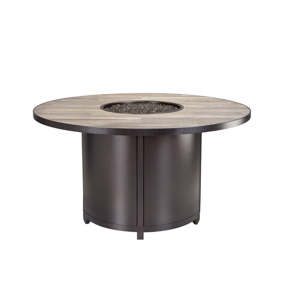 "OW Lee Elba 54"" Round Dining Height Fire Table - 5122-54RDD"