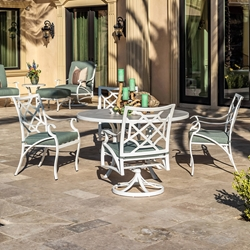OW Lee Grand Cay Aluminum Outdoor Dining Set for 4 - OW-GRANDCAY-SET1
