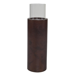 OW Lee 33 Inch Tall Copper Fire Pillar - 5260-36TA