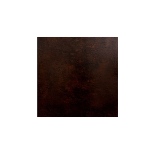 OW Lee Hammered Copper 36 inch Square Table Top - CP-36SQ