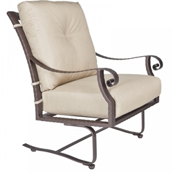 OW Lee Luna Spring Base Lounge Chair - 32125-SB