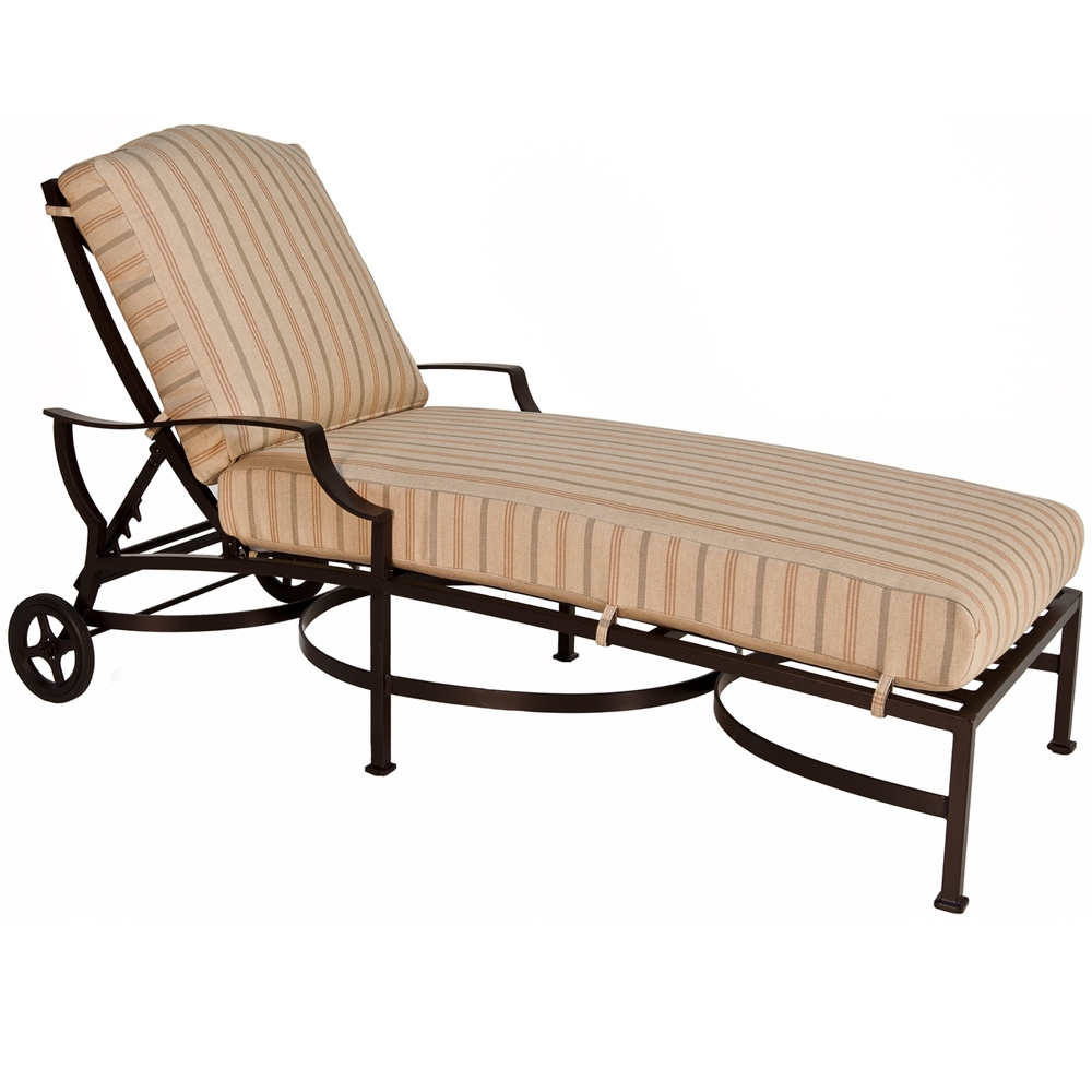 Ow lee madison adjustable cushion chaise lounge and table for 23 w outdoor cushion for chaise