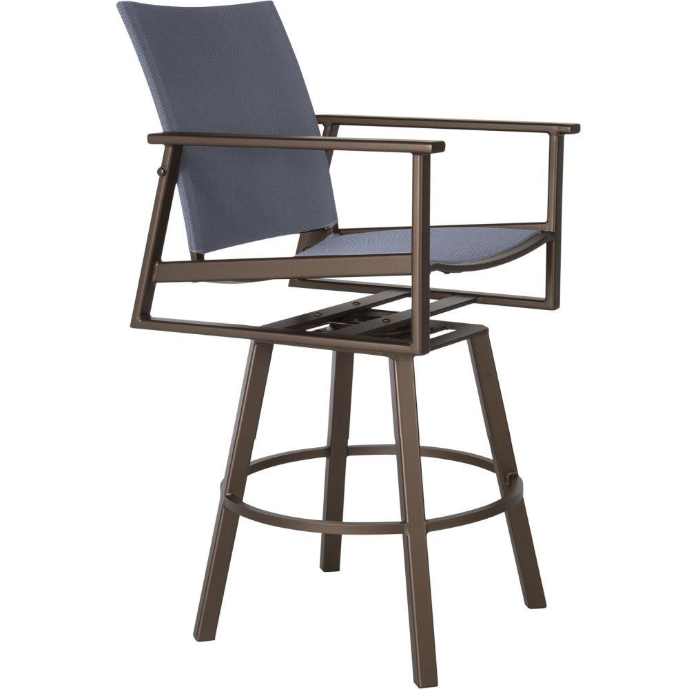 OW Lee Marin Flex Comfort Swivel Rocking Counter Stool - 37163-SCS