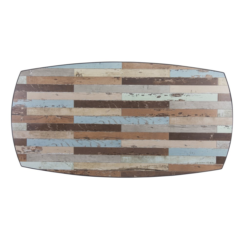 Ow Lee Marina 44 X 84 Boat Shaped Table Top M 4484bt
