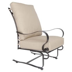 OW Lee Marquette Hi-Back Spring Base Lounge Chair - 2037-SB