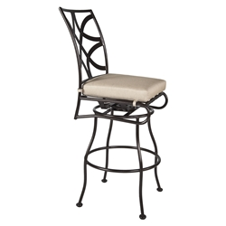 OW Lee Marquette Armless Swivel Bar Stool - 2051-SBS
