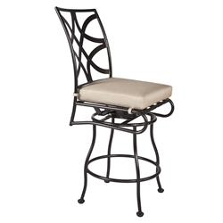 OW Lee Marquette Armless Swivel Counter Stool - 2051-SCS