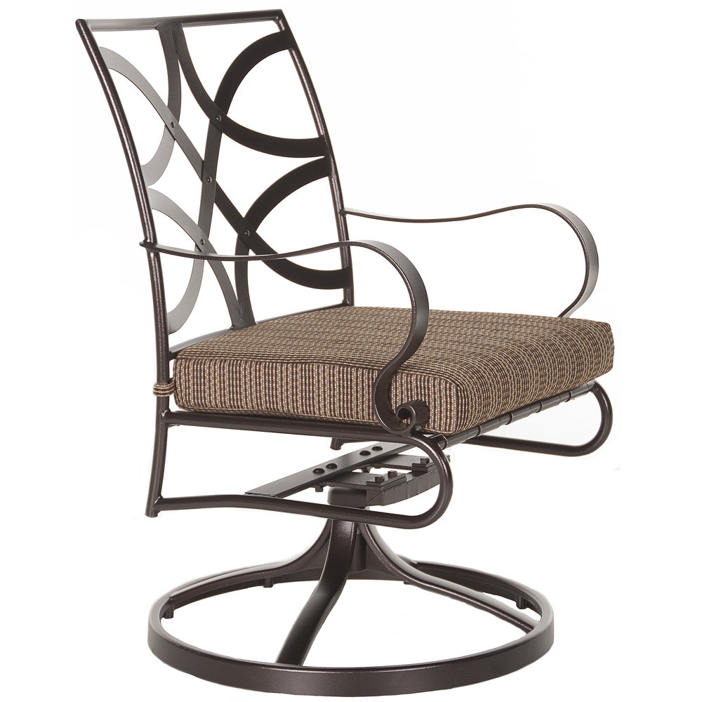 OW Lee Marquette Swivel Rocker Dining Arm Chair - 2053-SR