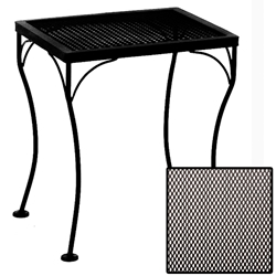 OW Lee Micro Mesh Rectangle Side Table - 1618-MMST