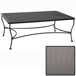 OW Lee Micro Mesh Rectangle Coffee Table - 3048-RTMMOT