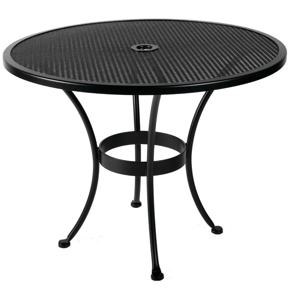 "Micro Mesh 36"" Round Dining Table"
