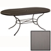 Micro Mesh Oval Dining Table