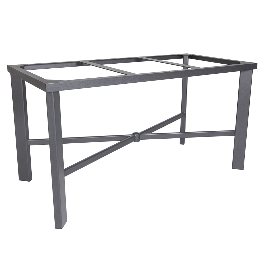 Ow Lee Modern Aluminum Rectangle Dining Table Base