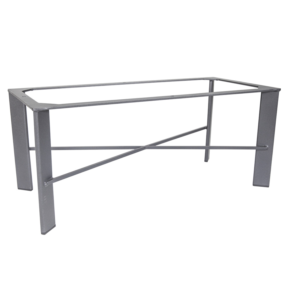 Contemporary Coffee Table Bases: OW Lee Modern Aluminum Coffee Table Base