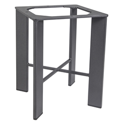 Modern Aluminum Side Table Base