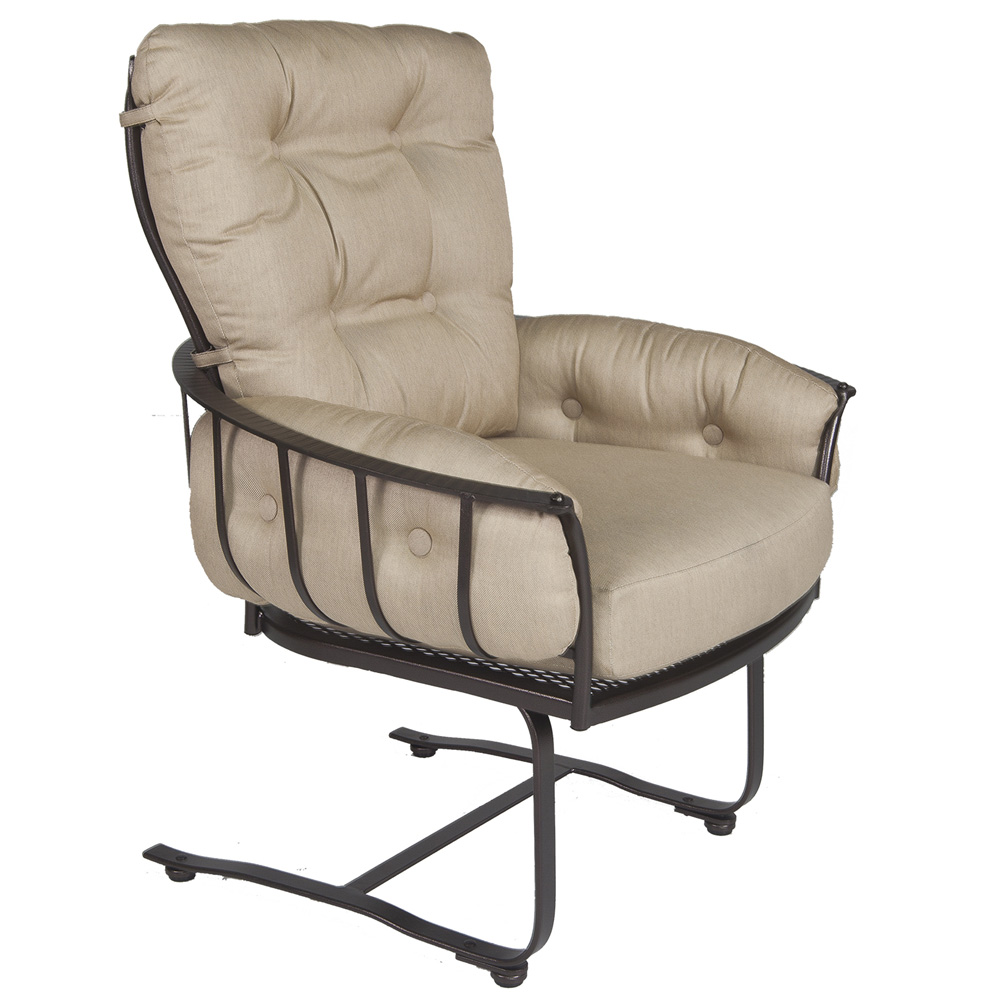 OW Lee Monterra Mini Spring Base Lounge Arm Chair - 424-MSB