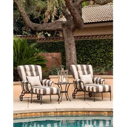 OW Lee Monterra Adjustable Chaise Lounge and Side Table Set
