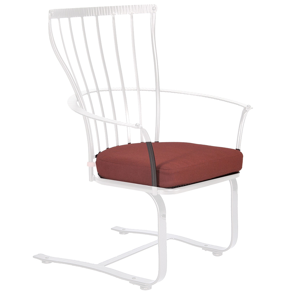 OW Lee Monterra Spring Base Dining Arm Chair Cushion - OW04-S-SB
