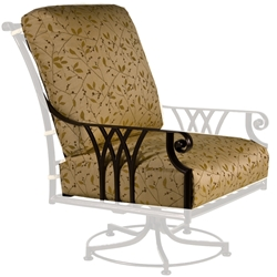 OW Lee Montrachet Swivel Rocker Lounge Chair Cushions - OWC-1095-SR
