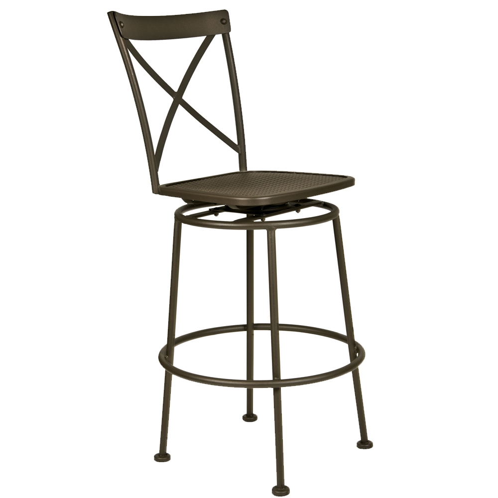 OW Lee Villa Swivel Pub Stool - 516-SPS