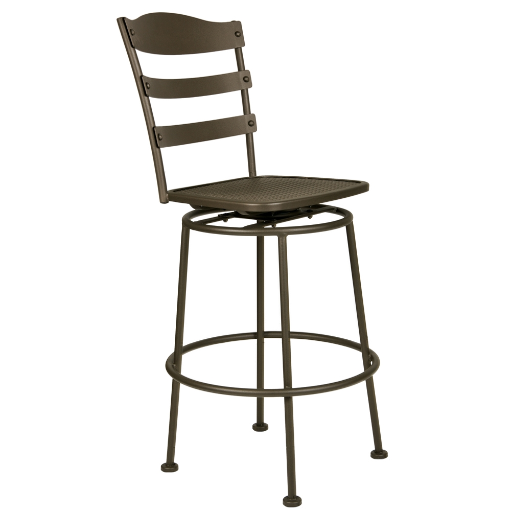 OW Lee Chalet Swivel Pub Stool - 616-SPS