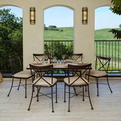 OW Lee Villa Bistro Dining Set for 6