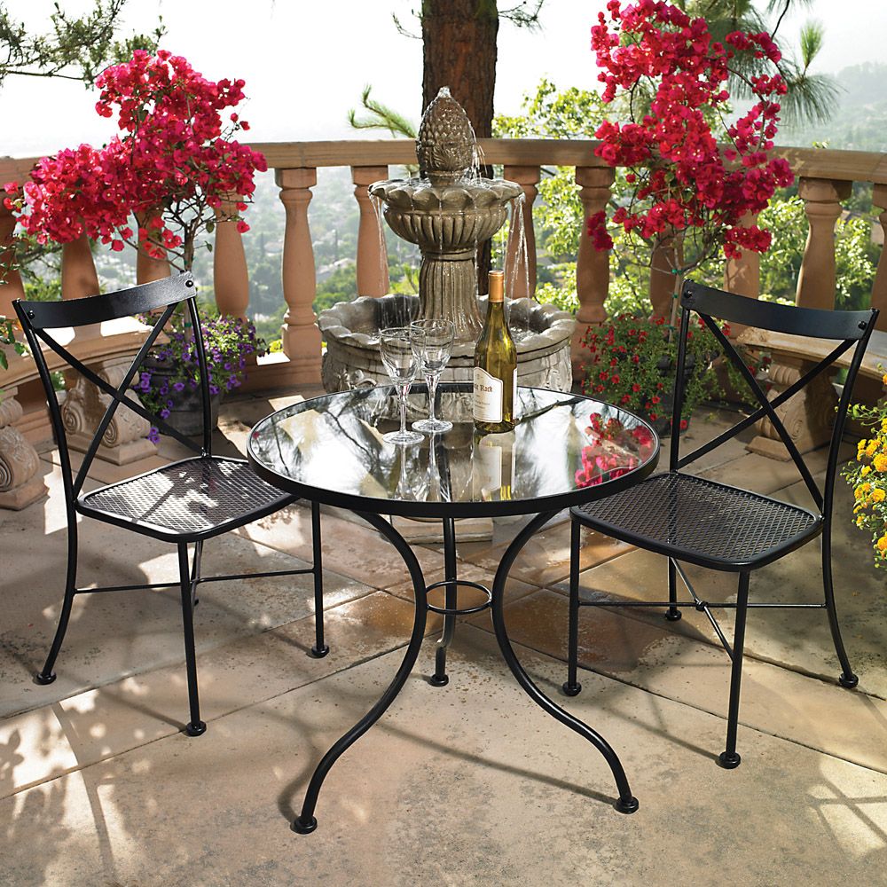 OW Lee Villa 3 Piece Bistro Dining Set - OW-BISTRO-VILLA-SET1