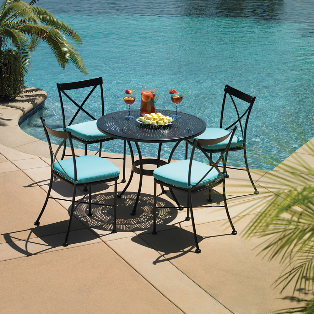 OW Lee Villa 5 Piece Bistro Dining Set - OW-BISTRO-VILLA-SET2