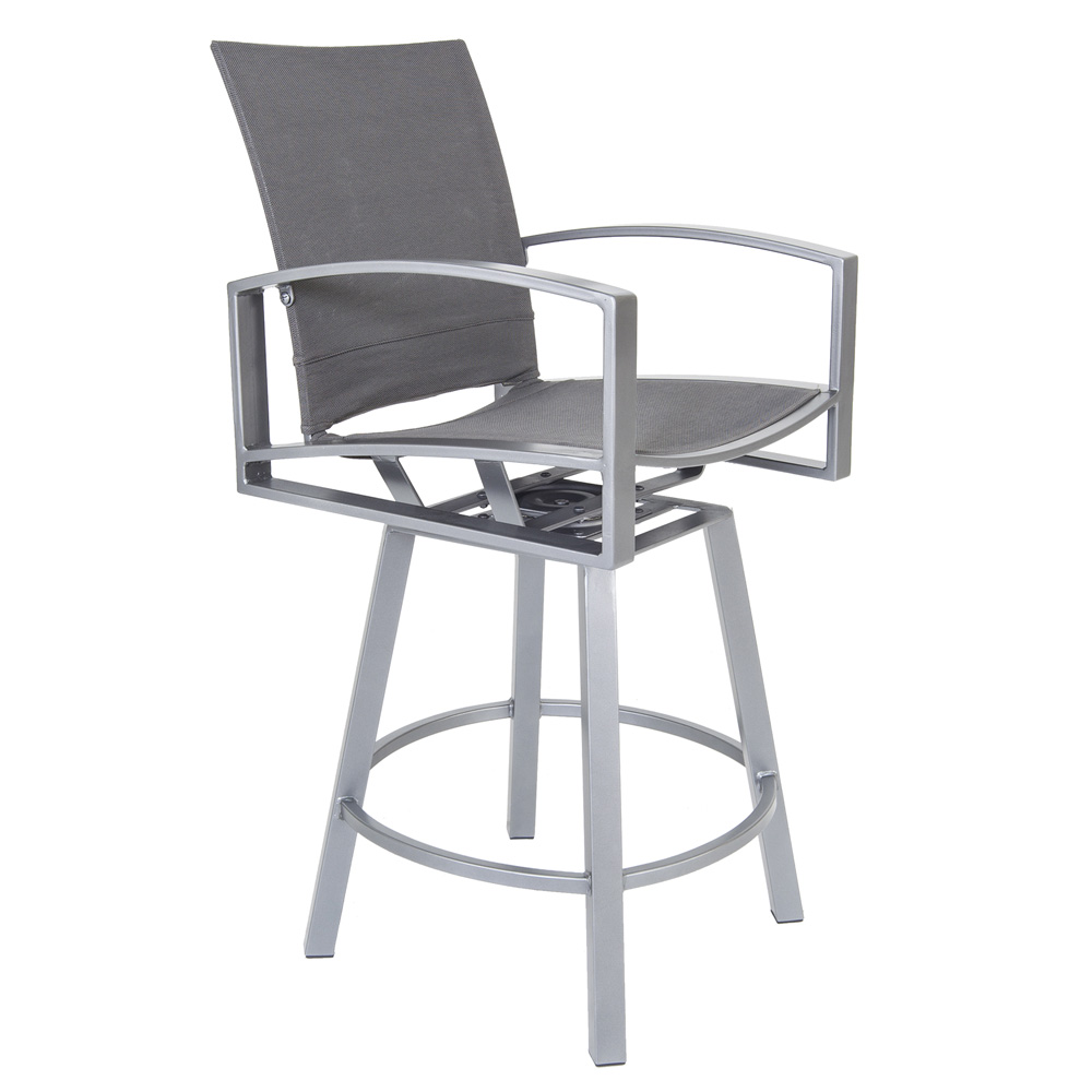 OW Lee Pacifica Swivel Bar Stool - 49163-SBS