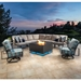 OW Lee Pacifica Modern Patio Sectional Set