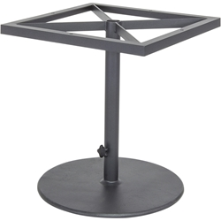 OW Lee Pedestal Dining Table Base with Umbrella Base - 39-DT03