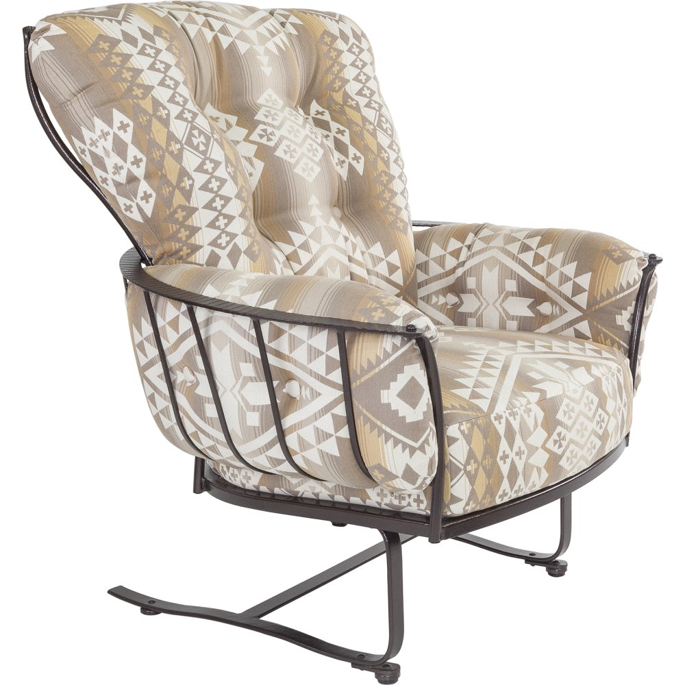 OW Lee Pendleton Monterra Spring Base Lounge Chair - PD421-SB
