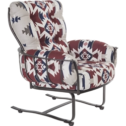 OW Lee Pendleton Monterra Mini Spring Base Lounge Chair - PD424-MSB