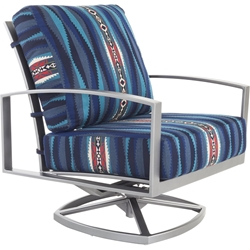 OW Lee Pendleton Pacifica Swivel Rocker Lounge Chair - PD49165-SR