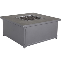 "OW Lee Pendleton Creighton 42"" Square Occasional Height Fire Pit - PD5136-42SQO"