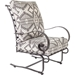 OW Lee Pendleton Classico-W Hi-Back Spring Base Lounge Chair - PD937-SBW
