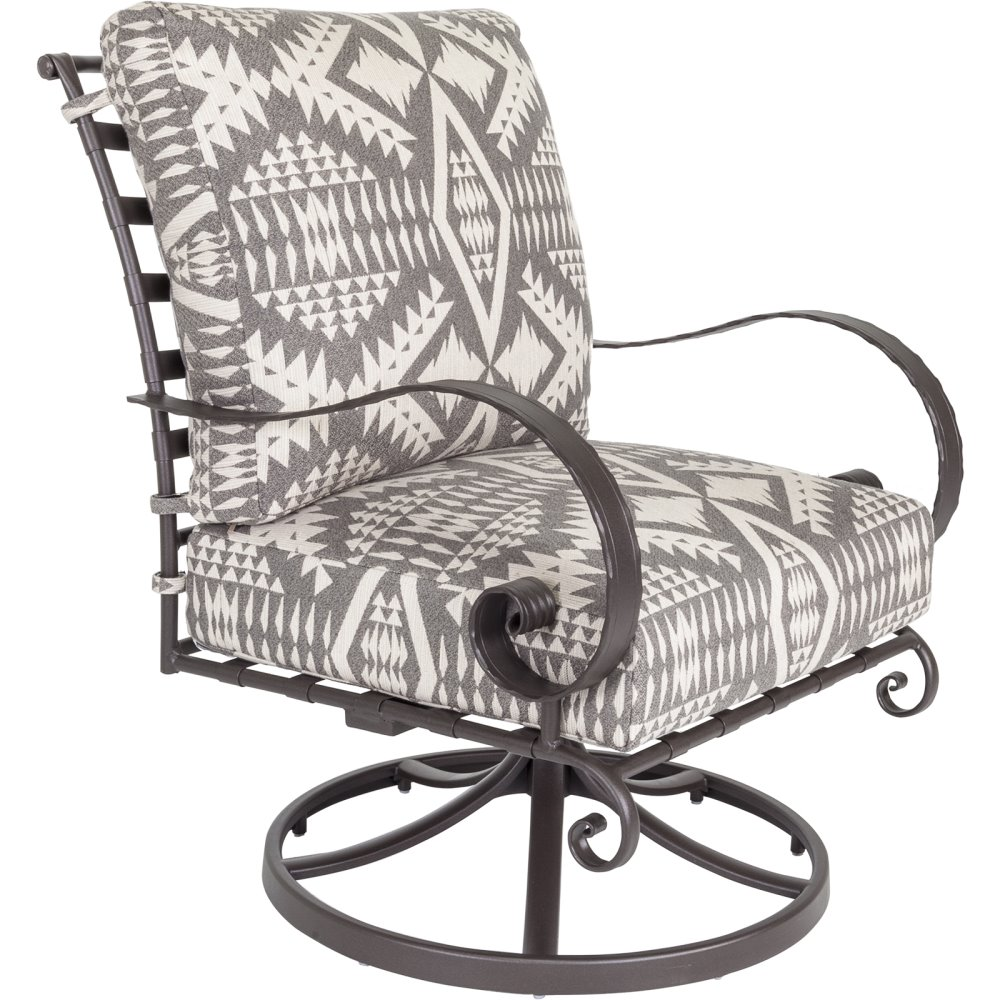 OW Lee Pendleton Classico-W Swivel Rocker Lounge Chair - PD956-SRW