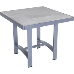 "OW Lee Pendleton Pacifica 24""Square Side Table - PDCI-ST01-P-24SQ"
