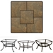 OW Lee 36 inch Square Porcelain Tile Top Coffee Table - P3636SQ-XX-OT03
