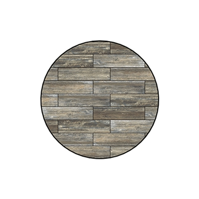 OW Lee Reclaimed Series 42 inch round Porcelain Tile Top - W-42