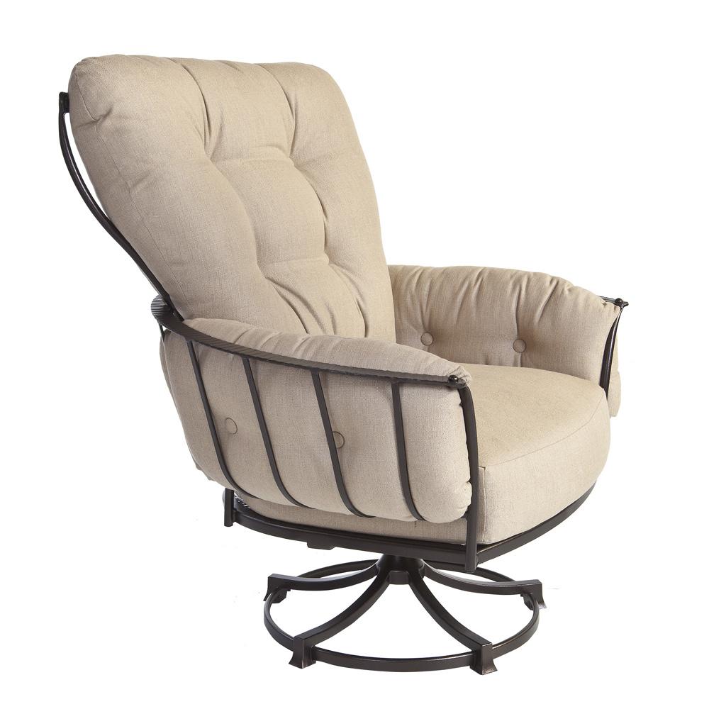 Ow Lee Quick Ship Monterra Swivel Rocker Lounge Chair W