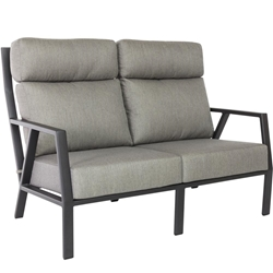 OW Lee Quick Ship Aris Loveseat - QS-27175-2S-GS06