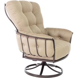 OW Lee Quick Ship Monterra Swivel Rocker Lounge Chair - QS-421-SR-GS38